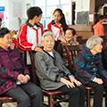 常德沅郡实验学校热情慰问和生源养老公寓
